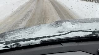 Snowy West Virginia