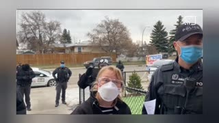 UNCUT: Polish Canadian Pastor throws police out again 'You are acting like the GESTAPO'