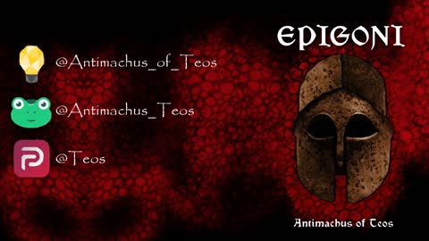 My Epic Poem, Epigoni