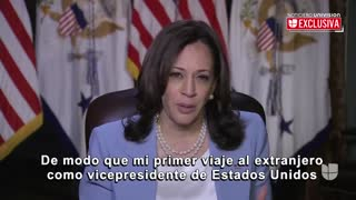 Kamala Harris SNAPS Again at Reporter Asking Her About Visiting Border