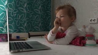 Child Watching Computer