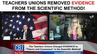 Teachers Unions Removed EVIDENCE From The Scientific Method!