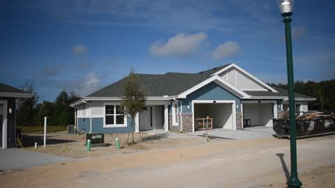 Garden Homes under construction at the NEW Lakeside at Waterman Village Retirement Community