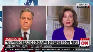Speaker Pelosi blames coronavirus deaths on Trump #2
