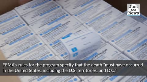 Funeral aid program allows death certificates to be altered for those who 'may have' died of COVID