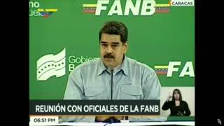 """Maduro afirma que desde Colombia se preparan """"provocaciones"""" militares contra Venezuela"""