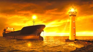 Relax Library: Video 10 Lighthouse. Relaxing videos and sounds
