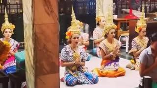 Thailand: traditioneller Tanz