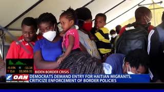 Democrats demand entry for Haitian migrants, criticize enforcement of border policies