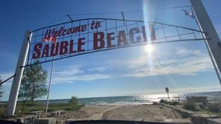 Sauble Beach Time lapse