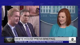 Psaki Condemns Communism as 'Failed Ideology' at White House Presser