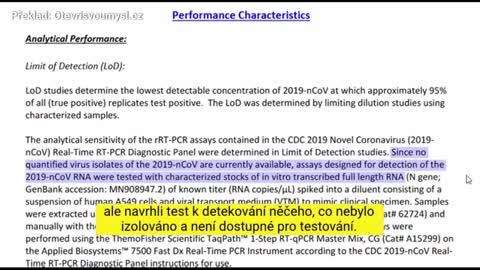 CDC: Koronavírus sme nikdy neizolovali. Dodané testy netestujú koronavírus