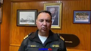 Dos unidades navales y un avión participaron del exitoso procedimiento de búsqueda y rescate