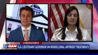Fla. Lt. Gov. on monoclonal antibody treatments