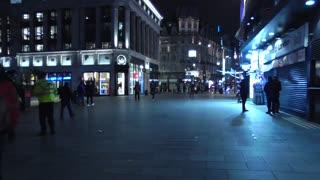 police in Leicester Square covid patrol