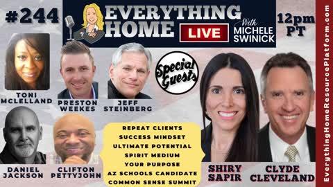 244: Common Sense Summit, More Clients, Mindset, Potential, Medium, Purpose, Arizona Schools & CRT