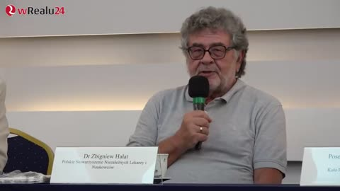 Debata lekarzy - Dr Zbigniew Hałat i dr Andrzej Sośnierz.