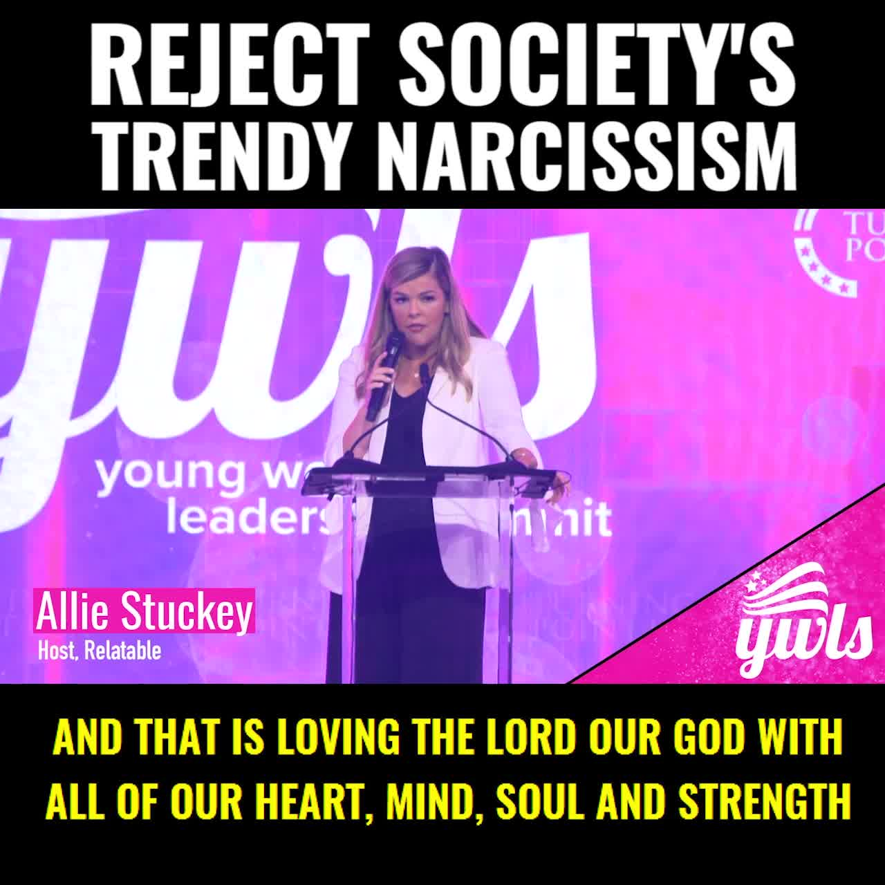 Reject Society's Trendy Narcissism