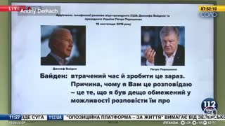 Joe Biden with Ukraine Call that's being taken down by everyone else...