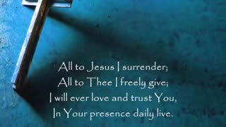 All to Jesus I surrender Robin Mark