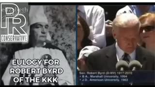 Joe Biden called Klansman his mentor