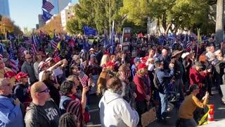 StopTheSteal _ California State Capitol Protest Sacramento, CA Week 4 November 28, 2020 IMG 2840