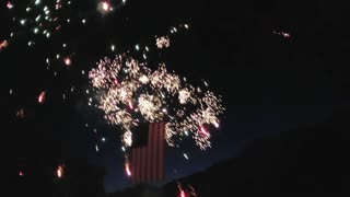Fireworks with Kings Fire Church
