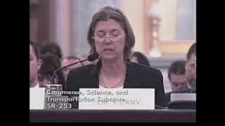 Dr. Curry testifies about Climate Change
