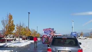 Trump Parade North Idaho