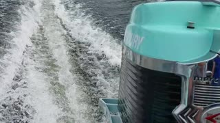 Old mercury outboard first run!