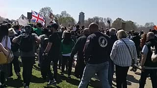 London Unite For Freedom Protest - 24.04.21 - Hyde Park - Part 1