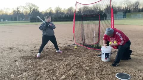 Softball Hitting KED 12-9-2020 #2