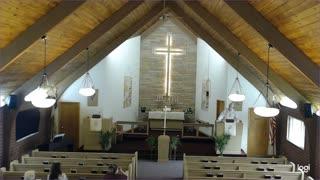 Church Service at Trinity Lutheran Church