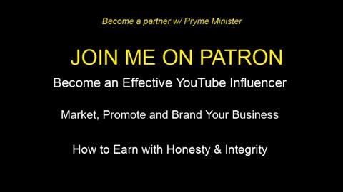 Partner w/ Pryme * Promote your Business * Become a Successful Influencer * Exclusive 4 Patreon