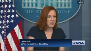 Psaki SNAPS When Asked About Conservative Reaction To Kamala Not Visiting Border