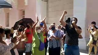 Protestas en los Juzgados