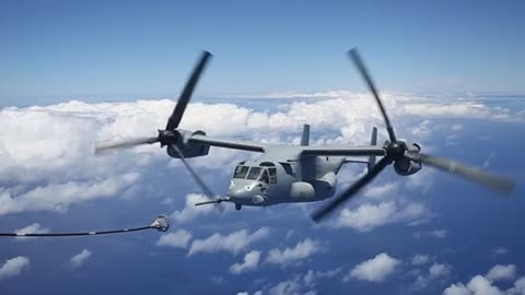 Ospreys with Marine Medium Tiltrotor Squadron 163