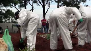 Brasil pide auxilio ante escasez de insumos para intubar pacientes con covid
