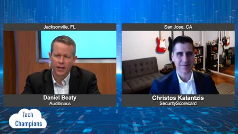 """Tech Champions"" with Christos Kalantzis from SecurityScorecard"