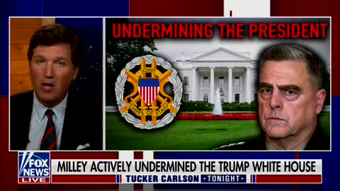 Tucker Explains Where the Real 'Coup' Was After Bombshell Mark Milley Revelations Exposed