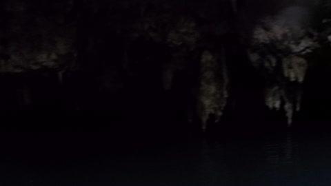 Falling into cenotes