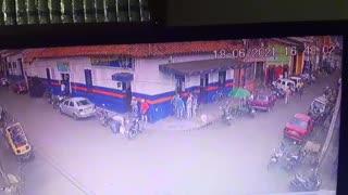Video grabó el asesinato de un hombre en el barrio Girardot de Bucaramanga