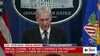 Robert Mueller speaks about his report