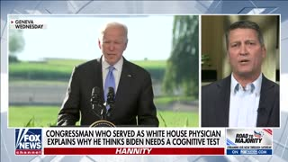 Former White House Physician: Biden Should Take a Cognitive Test
