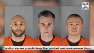 Former officers in Floyd's killing due in court