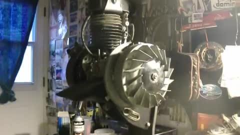 How to remove the Velosolex Solex flywheel / rotor