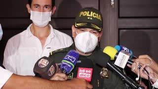 Balance Policía paro en Bucaramanga