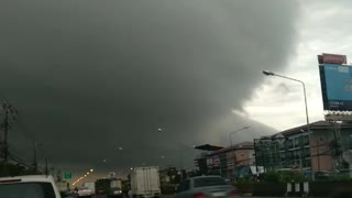 Storm Stretches Across the City