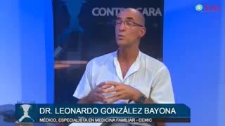 Dr Leonardo Gonzáles Bayona habla en TLV1 Coronavirus Covid 19 Plandemia
