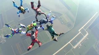 Parachute Diving